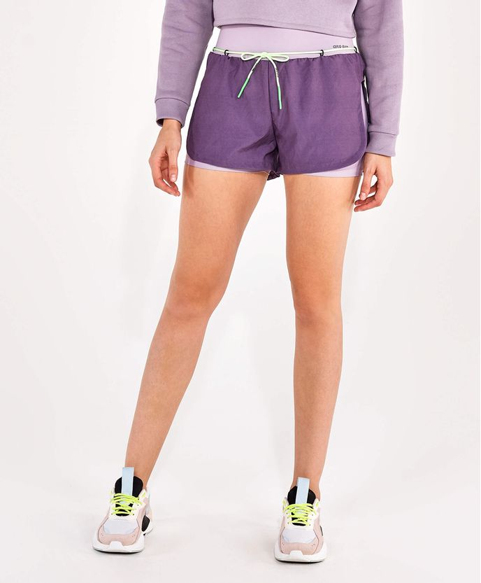 Shorts-Alto-Giro-Tecnospan-Sobreposto-Com-Cordao-ROXO-PLUM-Frente
