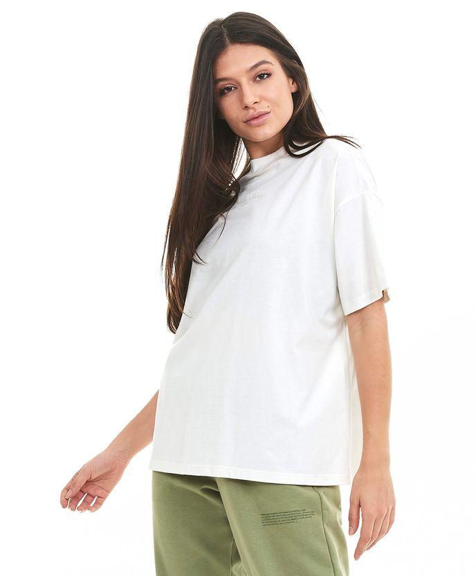 T-Shirt-Alto-Giro-Nature-Gola-Alta-Off-White-OFF-WHITE-frente