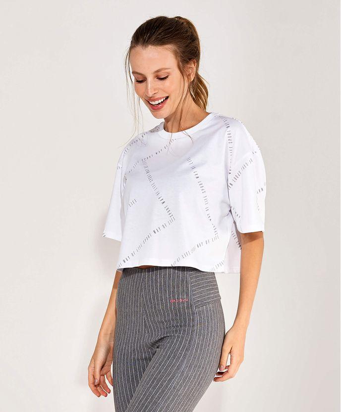 T-Shirt-Alto-Giro-Malha-Confort-Dry-Silk-Sport-Way-BRANCO-frente