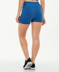Shorts-Alto-Giro-Supplex-Termo-AZUL-INTENSE-costas